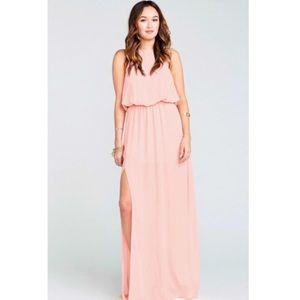 Show Me Your MuMu Heather Halter Maxi Dress